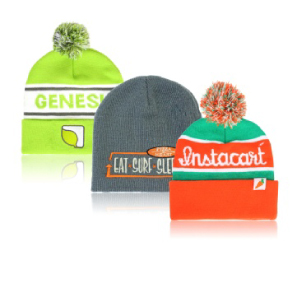 Custom PMS color Beanies with your company logo