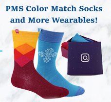 Custom PMS Matched Promotional products and Marketing wearables